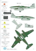 Bunrin Do Famous Airplanes of the world 002 Me-262