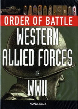 Order of Battle Western Allied Forces of WWII