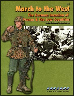 Concord 6517 - March to the West: The German invasion of France & the Low Countries