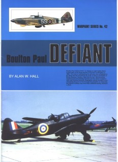 Boulton Paul Defiant (Warpaint Series No. 42)