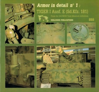 Armor in Detail n1: Tiger I Ausf. E (Sd.Kfz.181)
