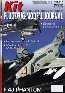 Kit Flugzeug-Modell Journal 2 - 2010