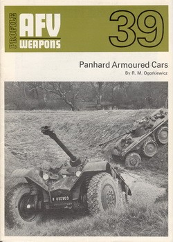 AFV Weapons Profile 39 Panhard armoured cars