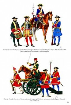 The Great Northern War 1700-1721 (2).Swedish Allies And Enemies - Colours and Uniforms