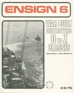 War Built Destroyers O-Z Classes (Ensign 6)