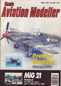 Scale Aviation Modeller International vol.1 iss.7 1995 (july)