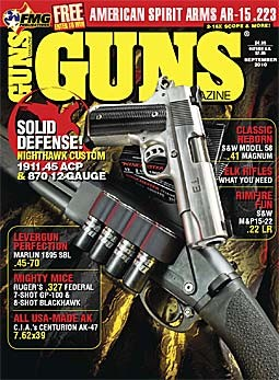 Guns Magazine, September 2010