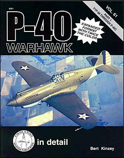 P-40 Warhawk (1) - Detail & Scale Vol. 61