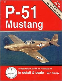 P-51 Mustang (1) - Detail & Scale Vol. 50