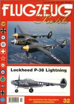 Flugzeug Profile 32: Lockheed P-38 Lightning