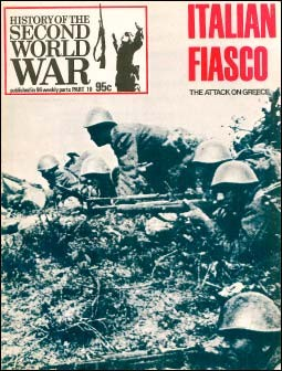 History of the Second World War 10 - Italian Fiasco.The Attack on Greece