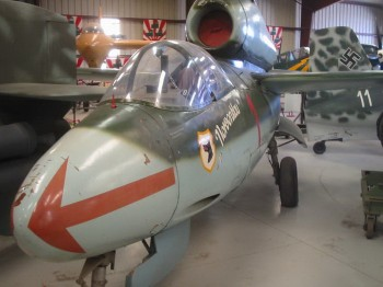 Heinkel He-162-1a Volksjager Walk Around