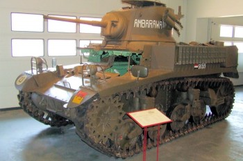 M3A1 Stuart Walk Around