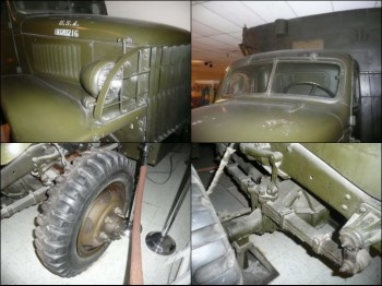 GMC 353, 1942, 2 1.2 ton, 6x6 Walk Around
