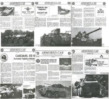 Armored Car: The Wheeled Fighting Vehicle Journal (By David R. Haugh)