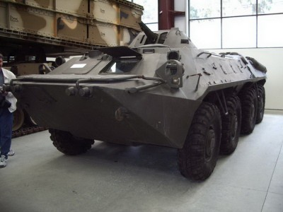 BTR-70 Walk Around