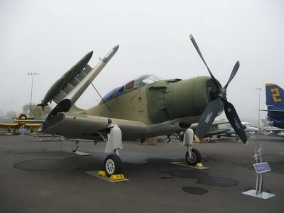 Douglas A-1E Skyraider Walk Around