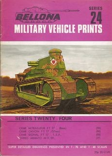 Bellona Military Vehicle Prints Series 24
