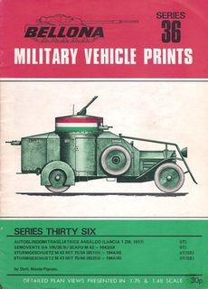 Bellona Military Vehicle Prints Series 36