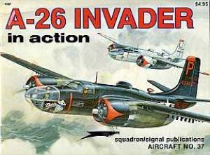 Squadron - Aircraft. #1037. A-26 Invader in action