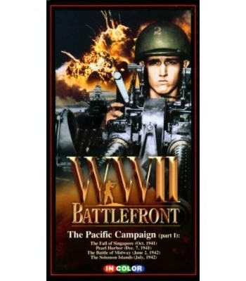 World War II (WWII) Battlefront: The Pacific Campaign Part I - The Battle Of Midway