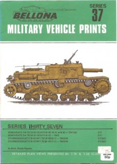Bellona Military Vehicle Prints: series 37