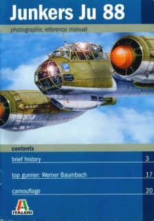 Junkers Ju 88 (Photographic reference manual)
