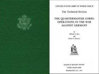 The Quartermaster Corps: Operations in the War Against Germany