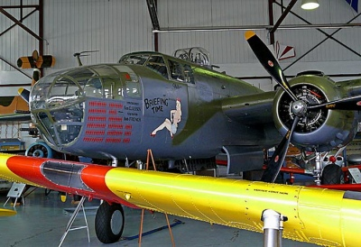 North American B-25J Mitchell Walk Around