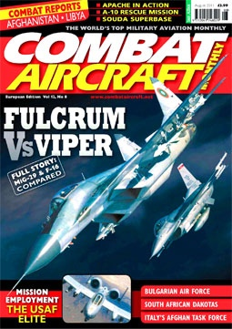 Combat Aircraft Monthly № 8 - 2011 (Vol.12)