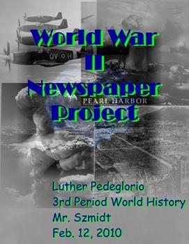 World War II Newspaper Project