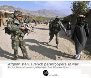 Afghanistan. French Paratroopers at war. Photos