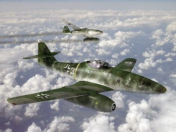 WW2 Aircraft in Motion.  Bf109, Ju87, FW190, Spitfire, Mustang, Thunderbolt, Me262, Hurricane, He111, B17