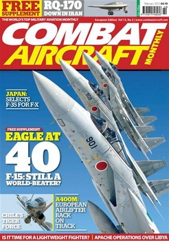 Combat Aircraft Monthly № 2 - 2012