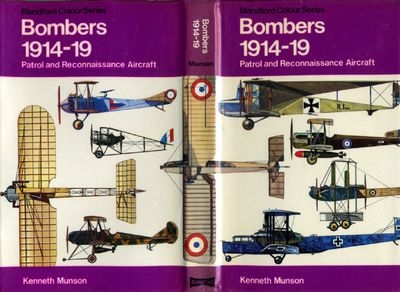 Bombers 1914-19. Patrol and Reconnaissance Aircraft (Author: Kenneth Munson)
