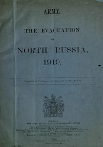 The Evacuation of North Russia 1919
