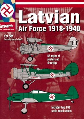 Latvian Air Force 1918 - 1940