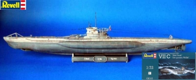 Revell - U-Boot VII C (1:72) [Tamiya video]