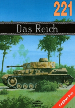 """Wydawnictwo Militaria 221 - SS-Division """"Das Reich"""" 1940-1945"""