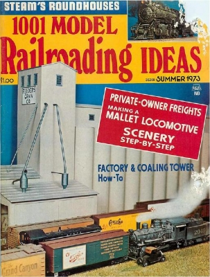 1001 Model Railroading Ideas Summer 1973