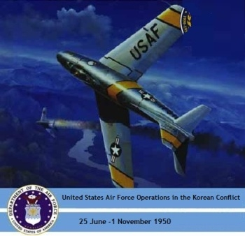 United States Air Force Operations in the Korean Conflict, 25 June -1 November 1950