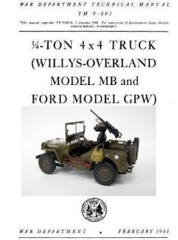 1/4-Ton Truck 4x4. Willys-Overland Model MB and Ford Model GPW