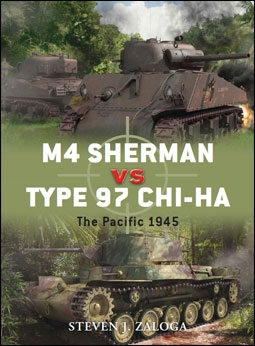 Osprey Duel 43 - M4 Sherman vs Type 97 Chi-Ha. The Pacific 1945