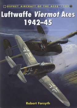 Osprey Aircraft of the Aces 101 - Luftwaffe Viermot Aces 1942-45