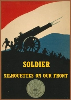 Soldier silhouettes on our front