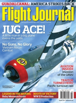 Flight Journal - August 2012