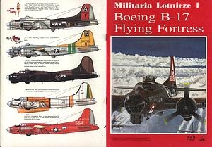 Boeing B-17 Flying Fortress (Militaria Lotnicze 01)