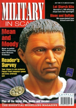Military in Scale - July 2001 (issue No 104)