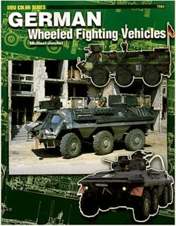 Concord 7504 German Wheeled Fighting Vehicles