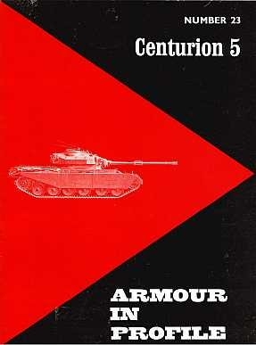 Profile Publications - Armour in Profile. № 23. Centurion 5
